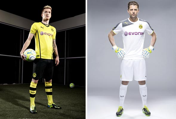 7e8306620e PUMA apresenta novos uniformes do Borussia Dortmund - Reply - paixão ...